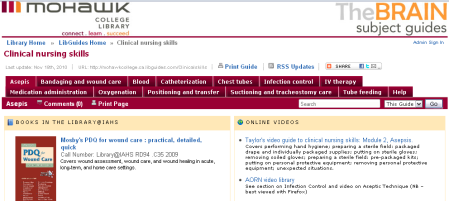 Image of the Clinical nursing skills guide