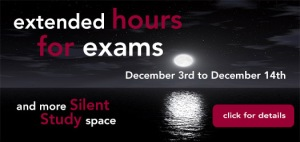 extended exam hours mohawk library