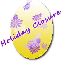 holiday closure icon