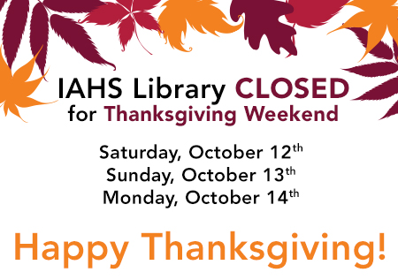 2013-iahs thanksgiving hours