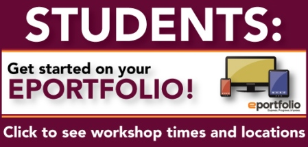 Get started on your ePortfolio!