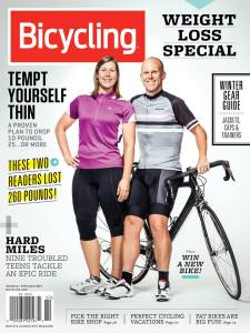 Bicycling cover