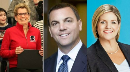 Provincial Party Leaders:  Liberal Leader: Kathleen Wynne, PC Leader:   Tim Hudak and NDP Leader: Andrea Horwath