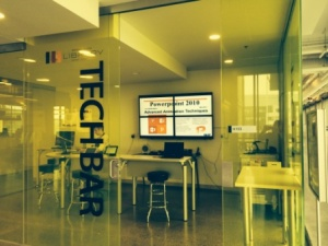 The TECH BAR at Fennell Campus. Stoney Creek's TECH BAR will have a similar look.